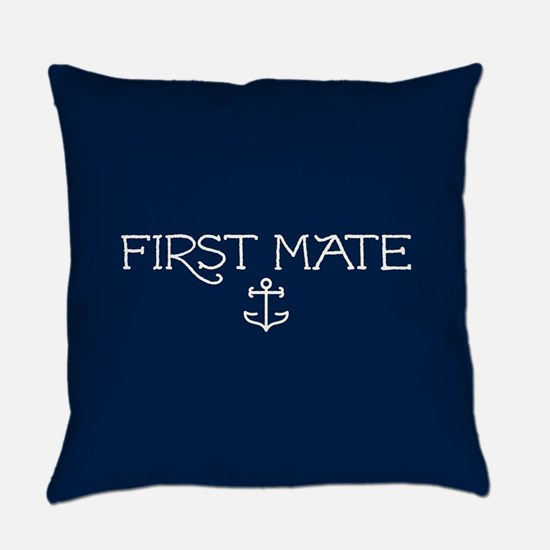 First Mate Everyday Pillow