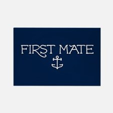 First Mate Rectangle Magnet
