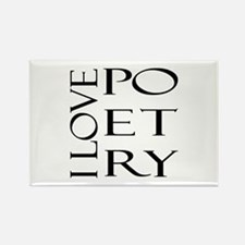 Poetry Rectangle Magnet (10 pack)