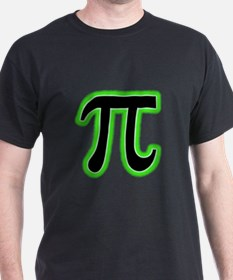 Pi (green glow) T-Shirt