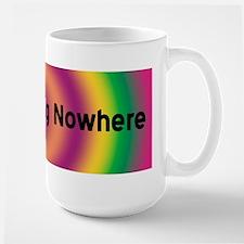 BOLDLY GOING NOWHERE Mug