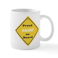 Proud Nanny on Board Mug