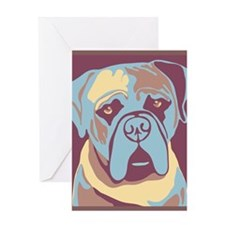 Mastiff - Greeting Card