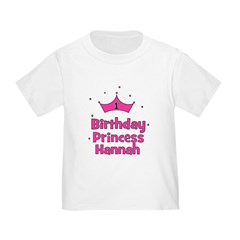 1st Birthday Princess Hannah! T