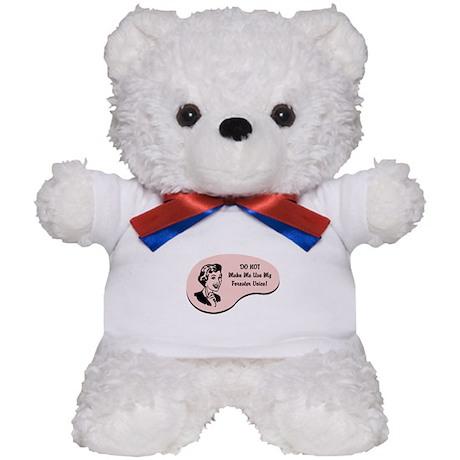 Forester Voice Teddy Bear