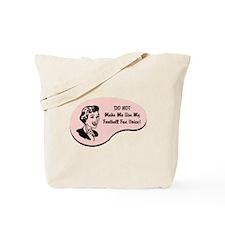 Football Fan Voice Tote Bag