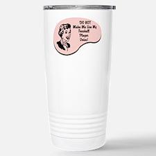 Foosball Player Voice Travel Mug