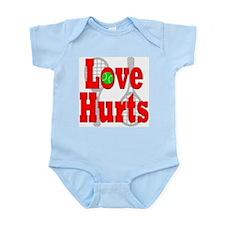 Tennis - Love Hurts Infant Creeper