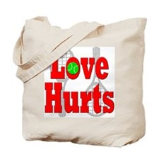 Tennis - Love Hurts Tote Bag