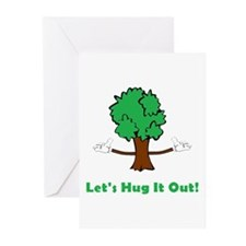 Tree Hugger Greeting Cards (Pk of 20)