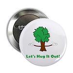 "Tree Hugger 2.25"" Button (10 pack)"