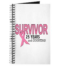 Breast Cancer Survivor 25 Years Journal
