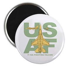 "F-16A 2.25"" Magnet (100 pack)"