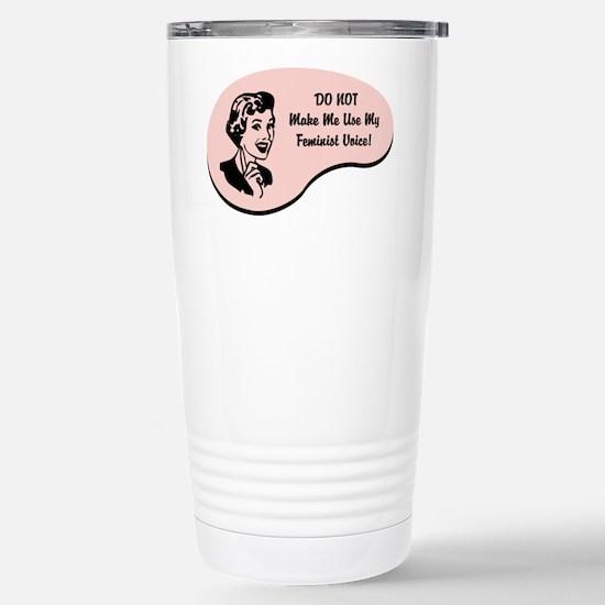 Feminist Voice Stainless Steel Travel Mug