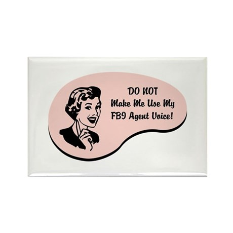 FBI Agent Voice Rectangle Magnet (10 pack)
