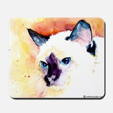 Siamese Cat Gifts Mousepad