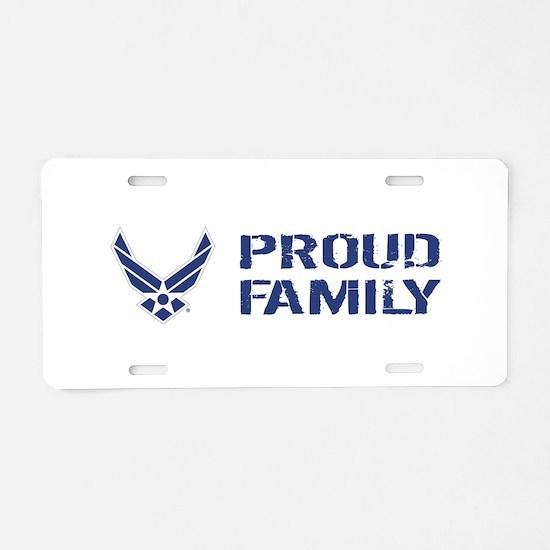 USAF: Proud Family Aluminum License Plate