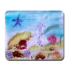"""Marine Life Fantasy"" Mousepad"