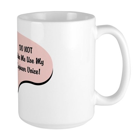 Engineer Voice Large Mug