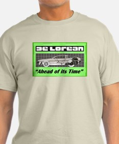 """DeLorean-Ahead of its Time"" T-Shirt"