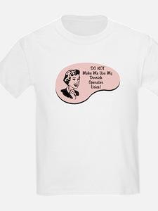 Derrick Operator Voice T-Shirt