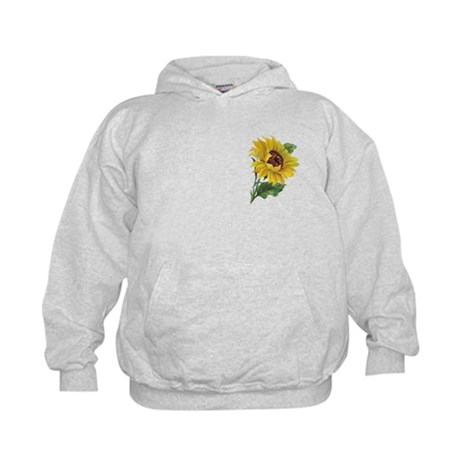 Golden Sunflower Kids Hoodie