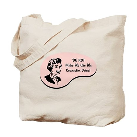 Counselor Voice Tote Bag