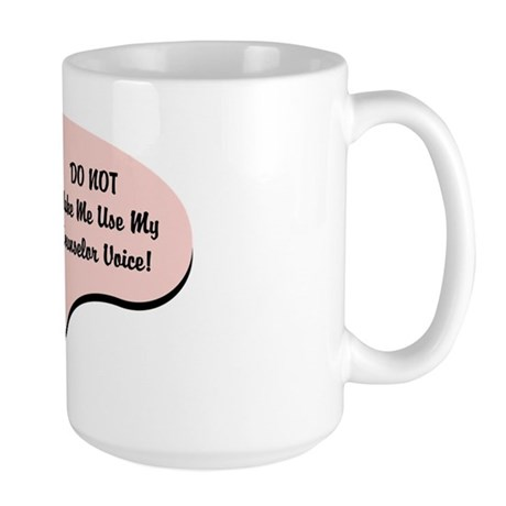 Counselor Voice Large Mug
