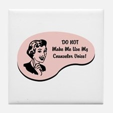Counselor Voice Tile Coaster
