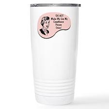 Compliance Person Voice Travel Mug