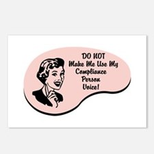 Compliance Person Voice Postcards (Package of 8)