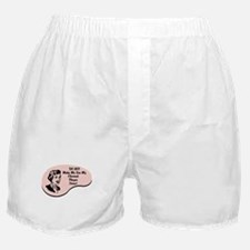 Clarinet Player Voice Boxer Shorts