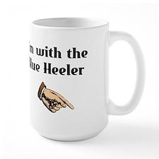 I'm with the Blue Heeler Mug