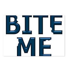 Bite Me Design II Postcards (Package of 8)