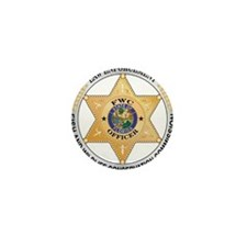 Florida Game Warden Mini Button (10 pack)