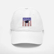 Patriotic Grad Baseball Baseball Cap