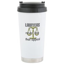 Lawyers Appeal Travel Coffee Mug