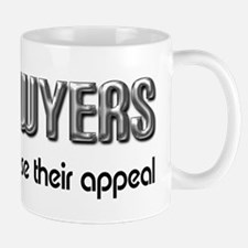 Lawyers Appeal Small Mugs