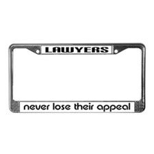 Lawyers Appeal License Plate Frame