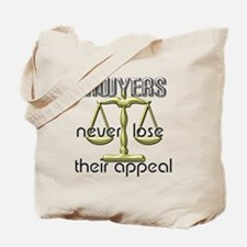 Lawyers Appeal Tote Bag