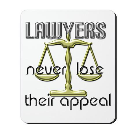 Lawyers Appeal Mousepad