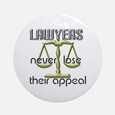 Lawyers Appeal Ornament (Round)