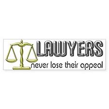 Lawyers Appeal Bumper Bumper Sticker