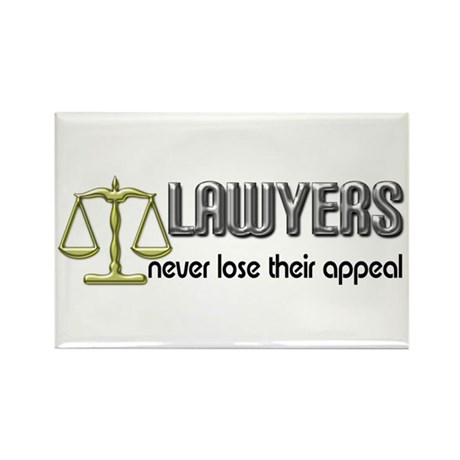 Lawyers Appeal Rectangle Magnet