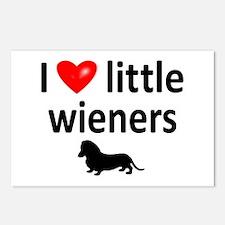 Love Little Wieners Postcards (Package of 8)