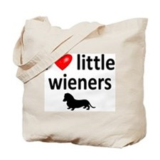 Love Little Wieners Tote Bag