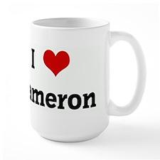 I Love Kameron Mug