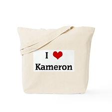 I Love Kameron Tote Bag