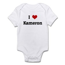 I Love Kameron Infant Bodysuit