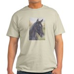 Black Horse Ash Grey T-Shirt